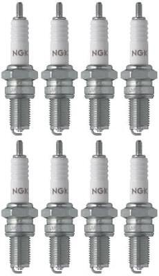 Set of 8 NGK Standard Spark Plugs for Yamaha XS500 1978-1975 Engine 500cc