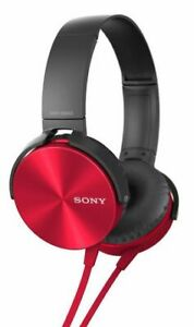 Sony Extra Bass Over-Ear Headphones with Microphone $40 obo