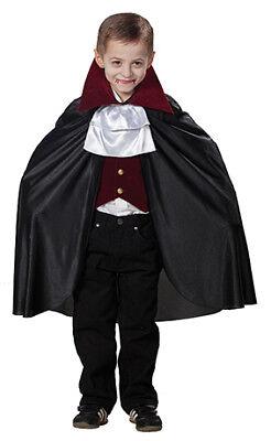Dracula Vampir Kostüm für Kinder 3-teilig - Deluxe Vampir Kind Kostüme