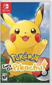 Nintendo Switch- let's go pikachu NEW