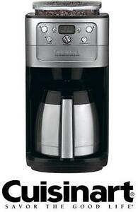 USED CUISINART 12-CUP COFFEE MAKER 12-CUP COFFEE MAKER FULLY AUTOMATIC BURR GRIND  BREW THERMAL 106683981