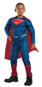 Superman Costume - Size SMALL (4-6 years)