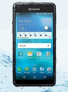 Brand New Kyocera Hydro Shore Waterproof Rugged Unlocked 5-inch display Smartphone