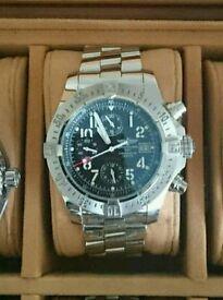 Breitling Avenger Skyland A13380 44mm Chronograph watch