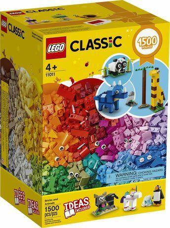 11011 lego classic bricks and animals