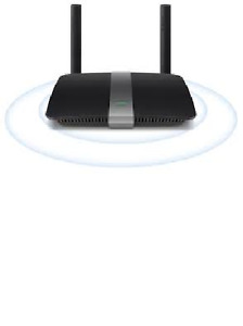 Router Linksys AC1200+