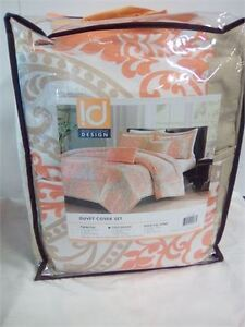 intelligent design duvet cover set (full/queen) brand new in bag