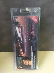NEW, Pro Beauty Tools Twilight Ceramic Straightener 3 / 4 Inch