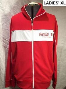 COCA-COLA CANADA 2015 OFFICIAL FIFA WORLD CUP TRACK JACKET - LADIES XL