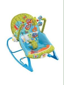 Baby rocking/vibrating chair.