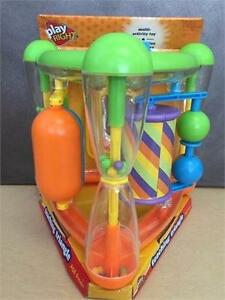 New, Play Right Teaching Triangle Multi Activity Toy for Ages 9 Months and Up