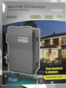 Aube Indoor/Outdoor Electronic Timer brand new in box