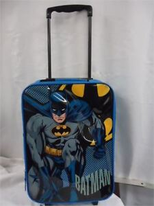 Kids batman Suitcase- softsided with wheels brand new only 10