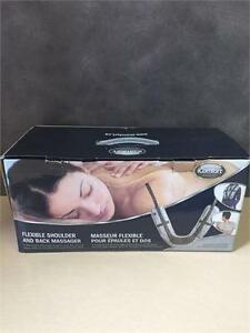 NEW, iComfort IC0954 Electric Shoulder and Back Knocking Massager