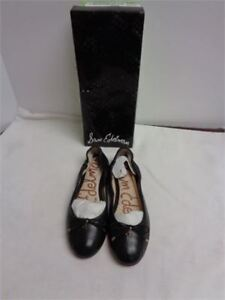 sam edelmon flats black brand new in box size 6.5 only 15 wow