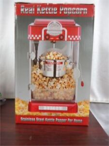 ALMOST NEW Real Kettle Popcorn Popper