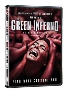 The Green inferno used horror movie DVD