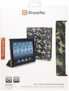XtremeMac MicroFolio Ultra-Thin Total Protection Folio For iPad 2/3/4 - Digital