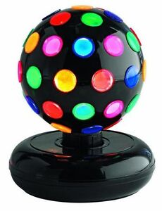 NEW: Spinning Disco Ball,Multicoloured Lenses (Great for Party)