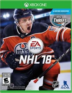 NHL 18 for sale or trade