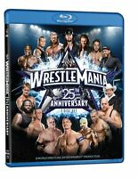 WWE Wrestlemania 25 blu-ray bluray