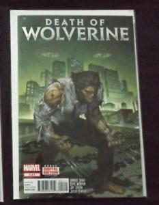 Death of Wolverine #2 Marvel Comics Foil Cover (November 2014)