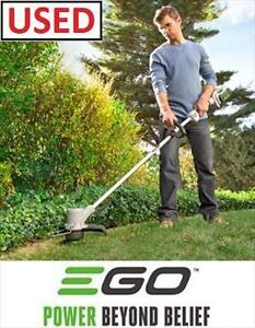USED EGO 56V CORDLESS ELECTRIC TRIMMER  Outdoor Power Equipment  Edgers home IMPROVEMENT