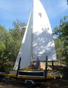 For Sale Haines Hunter Super Tramp Trimaran Irvinebank Tablelands Preview
