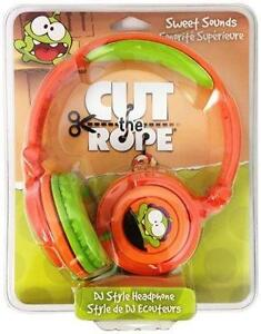 Maxell Cut The Rope DJ Style Headphones - 190803