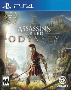 NEW ASSASSINS CREED ODYSSEY PS4 30$