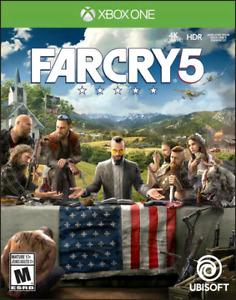 Far Cry 5 for XBOX One Brand New Sealed