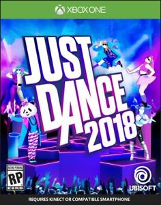 JUST DANCE 2018 (XBOX ONE) *BRAND NEW IN PACKAGE*