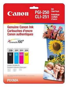 CANNON INK CARTRIDGES