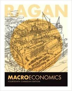 NEW TEXTBOOK Macroeconomics CHRISTOPHER T.S. RAGAN - 14TH CANADIAN EDITION