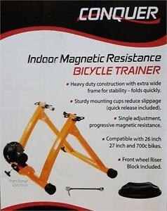 MAGNETIC BIKE TRAINER - ORANGE
