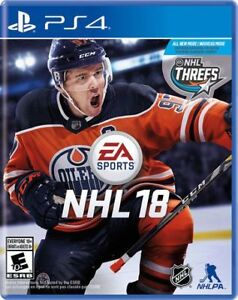 NHL 18 Brand New Sealed for Ps4