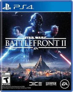 Star Wars Battlefront II PS4 (Brand New, Sealed)