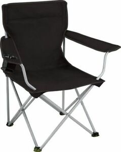 Ventura Deluxe Folding Camping Armchairs: 2 Chairs