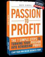 FREE Book on ho to turn your passion into solid online Business