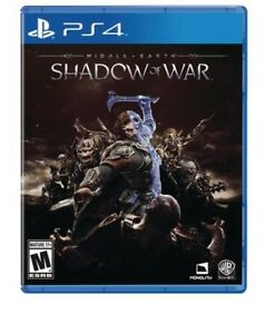 Middle Earth - Shadow of War - PS4
