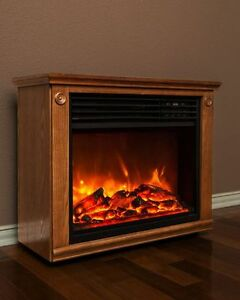 Brand New Lifepro Series Compact Infrared Heater/Fireplace