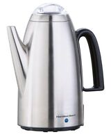 Hamilton Beach 12-Cup Percolator with Detachable Cord