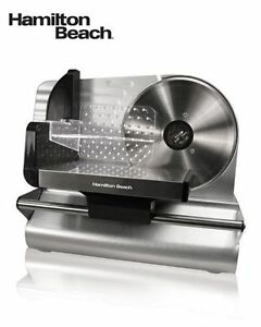 "Meat Slicer - Hamilton Beach,7.5"" circular blade,adjustable dist"