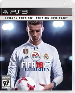 FIFA 18 on PS3