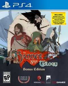 The Banner saga trilogy complet comme neuf ps4 40$ !!