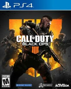 NEW, SEALED Call of Duty Black Ops 4 - PS4 - PlayStation 4