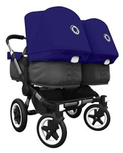 BUGABOO DONKEY DUO STROLLER + ACCESSORIES