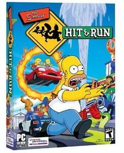 NEW THE SIMPSONS: HIT AND RUN PC GAME