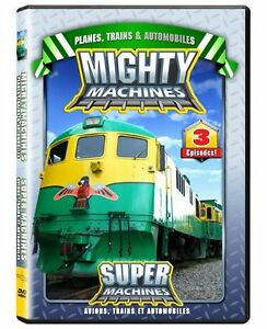 Dvd Les Super Machines (Mighty Machines)