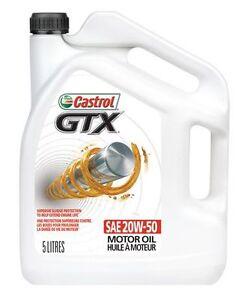 CASTROL CLASSIC GTX 20W-50 unopened 4.4 liter,Loc-Peace River